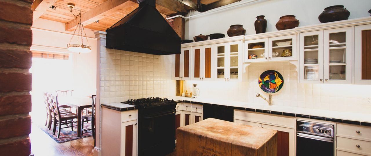 Large, full kitchen