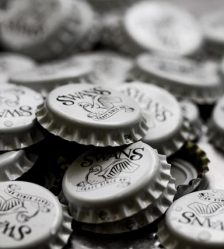 Swans beer bottle caps
