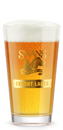 Swans Export Lager Beer