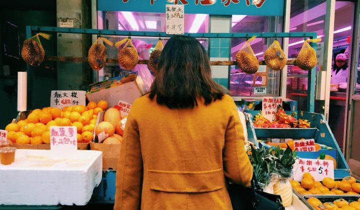 Browsing Chinese market